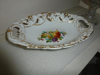 Porcelain Fruit Dish