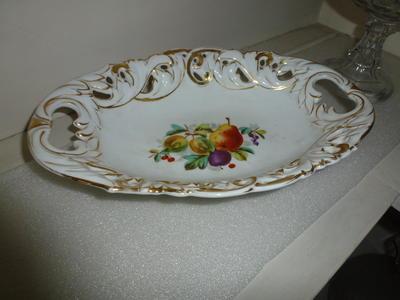 Porcelain Fruit Dish