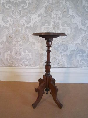 Black Walnut Palm Stand