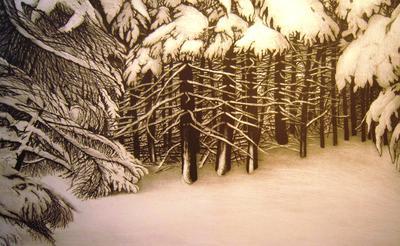 Deer Isle Suite, Winter III