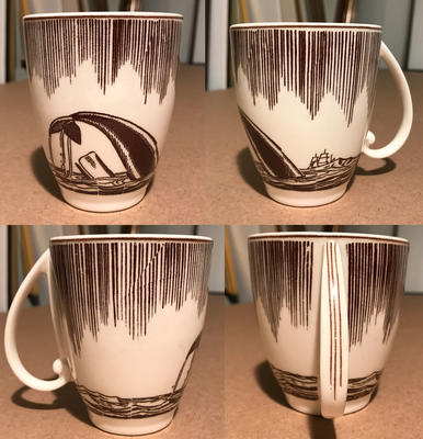 """Moby Dick"" cup"