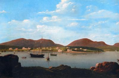 View of Southwest Harbor
