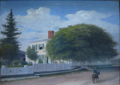The Residence of Dr. Joseph L. Stevens, Castine, Maine