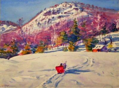 THE RED SLEIGH