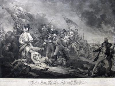 The Battle of Bunker's  Hill, Near Boston, June 17, 1775,