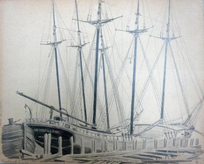 Snow Shipyards Rockland 8/12/38