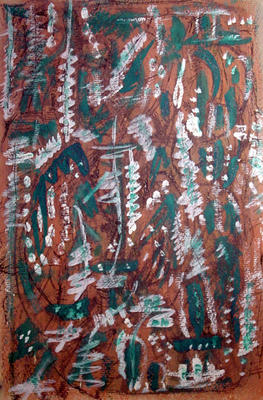 Untitled Green Abstract