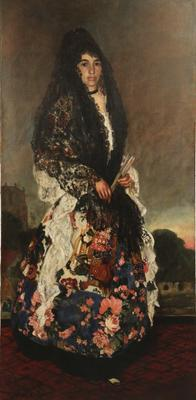Portrait of a Spanish Woman