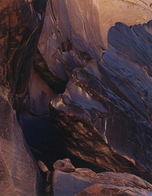 "Cliff, Moonlight Creek, San Juan River, May 23, 1962 from ""Glen Canyon"" Portfolio"