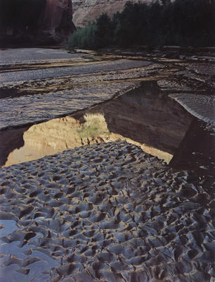 """Escalante River Outwash, Glen Canyon, September 2, 1962 from """"Glen Canyon"""" Portfolio"""