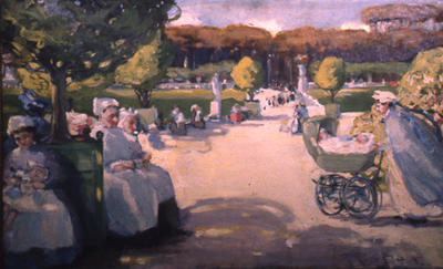 Nurse Maids in Luxembourg Garden