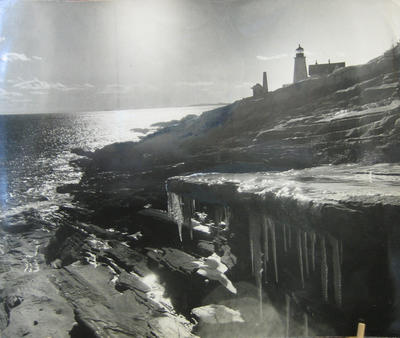 Pemaquid Point in Winter
