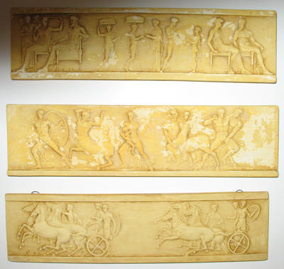 Miniatures of the Parthenon Frieze