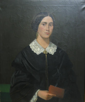 Portrait of Mrs. George (Olive) Gregory
