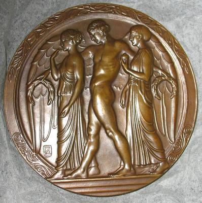 Bronze Medal, Chicago Art Institute