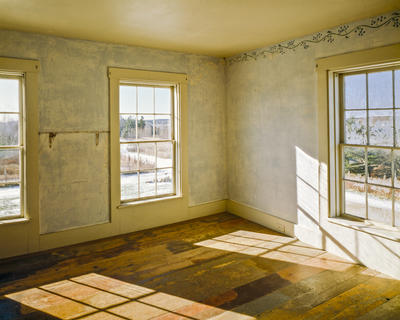 Untitled (Interior View, Second Floor, Southwest Corner)