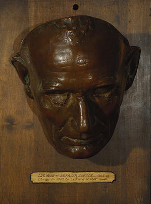 Face Mask of Abraham Lincoln (Replica)
