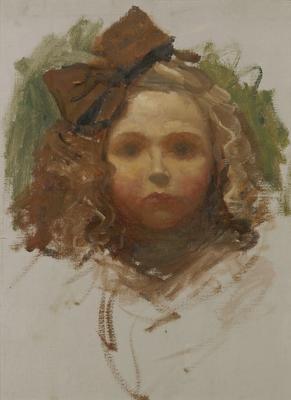Portrait of Henriette as a Child