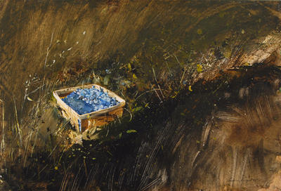 Blueberries, Study for Distant Thunder