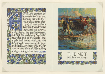 The Net, Matthew XIII: 47-50