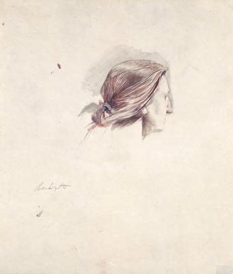 Christina's Head, Study for Christina Olson