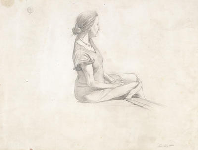 Christina with Beads, Study for Christina Olson