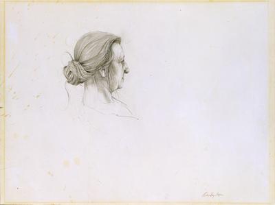 Christina's Head, Study for Christina Olson