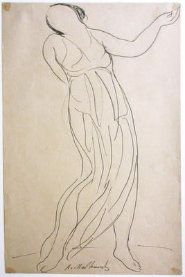 Untitled (Isadora Duncan Dancing)