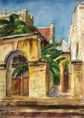 Gate to the Churchyard