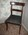 Grecian Mahogany Side Chair with Horsehair Seat