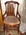 Black Walnut Dining Room Chair with Cane Seat