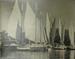 View of Schooners in Camden Harbor