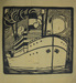 Untitled (Steamship at Sea)