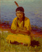 Portrait of Elizabeth Andrews (Indian Girl, Larbet)