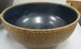 Cobalt Glazed Bowl