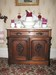 White Marble Topped Commode
